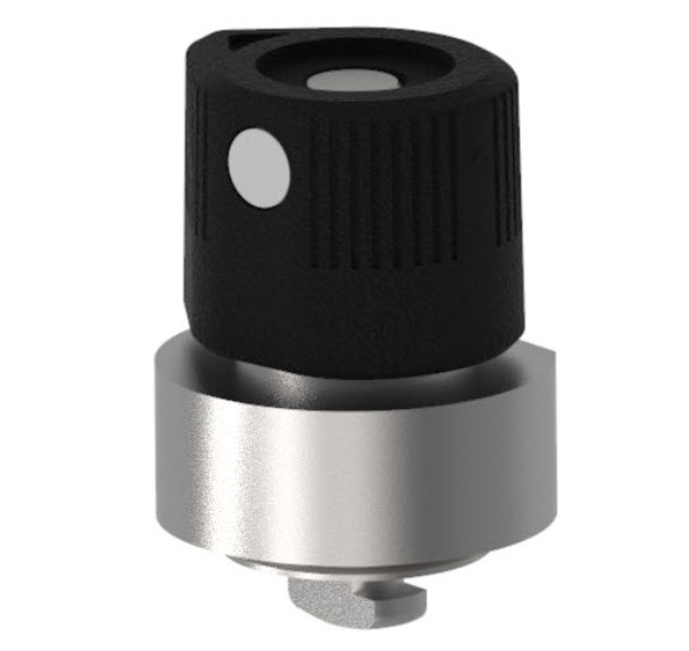 Wing Head Quarter-Turn Captive Panel Screw with Back Press-Fit Nut Steel